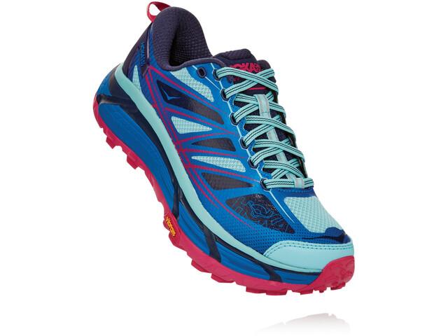 Hoka One One Mafate Speed 2 Shoes Women, imperial blue/antigua sand